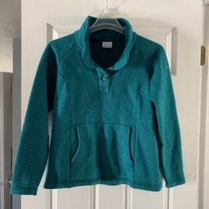 Aqua Columbia sweater/jacket